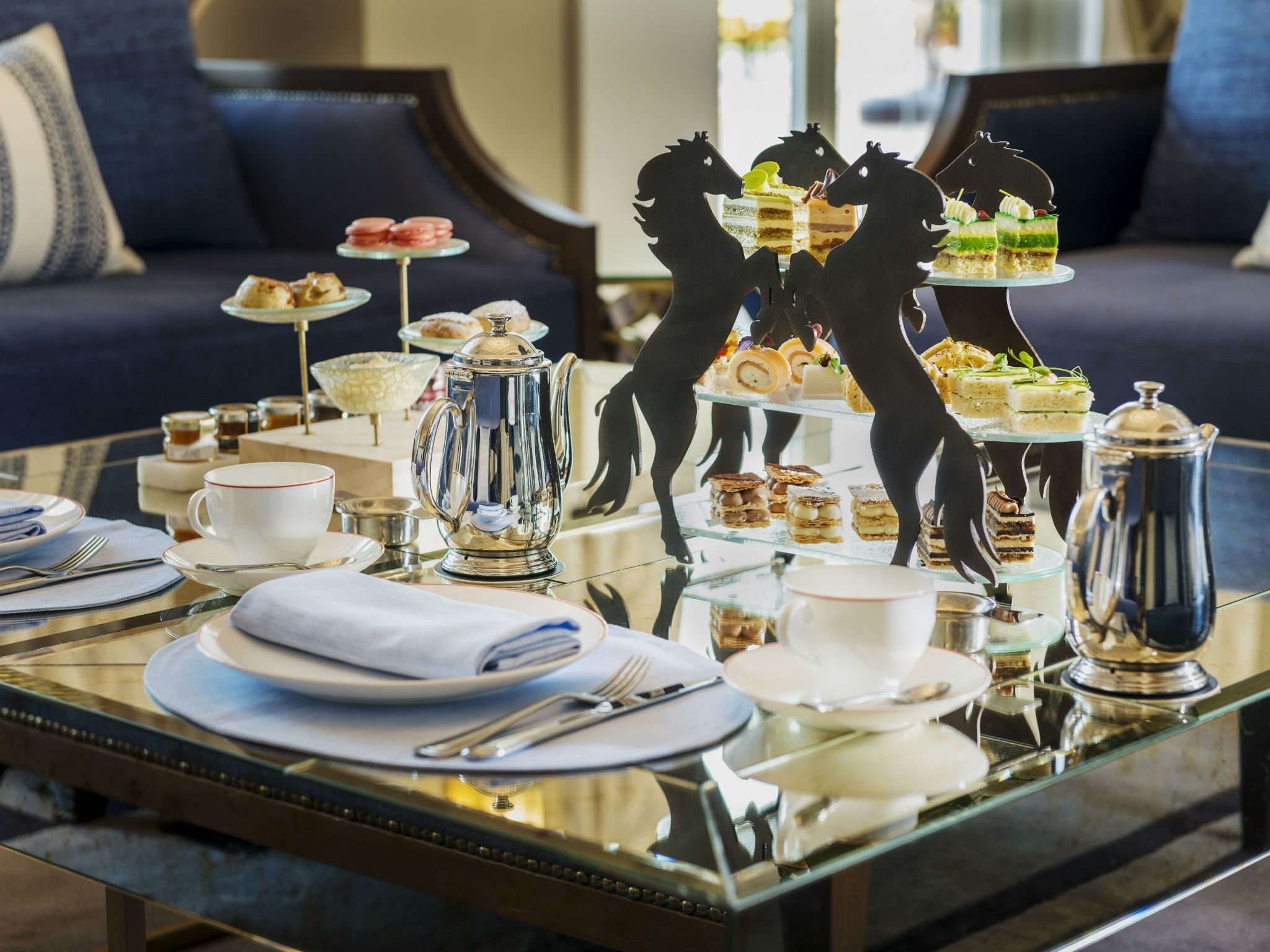 Afternoon Tea at St Regis Polo